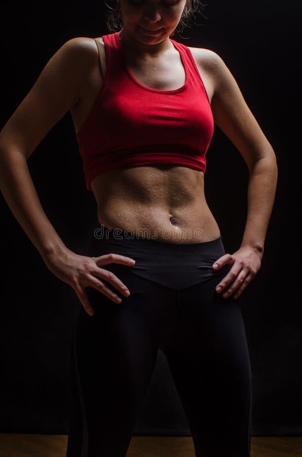 Женщина sportive стоковое изображение