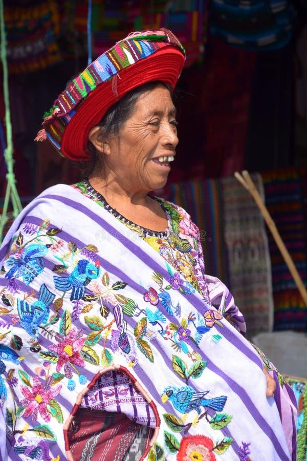 Женщина Tzutujil стоковые изображения rf