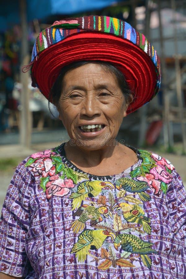 Женщина Tzutujil стоковые фото