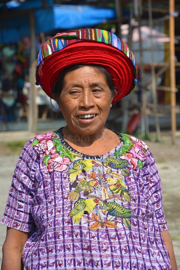 Женщина Tzutujil стоковое фото rf