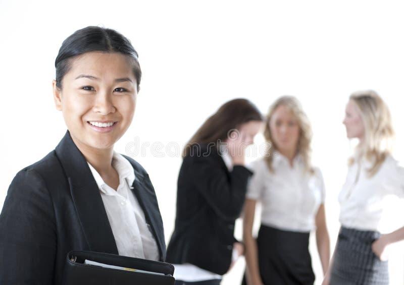 женщины бизнес-группы стоковое фото rf