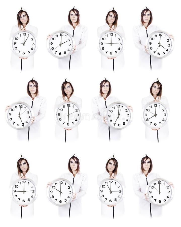 женщины времени стоковая фотография