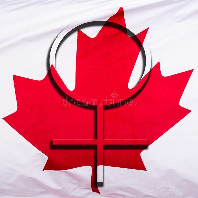 Женщины в Канаде стоковое изображение rf