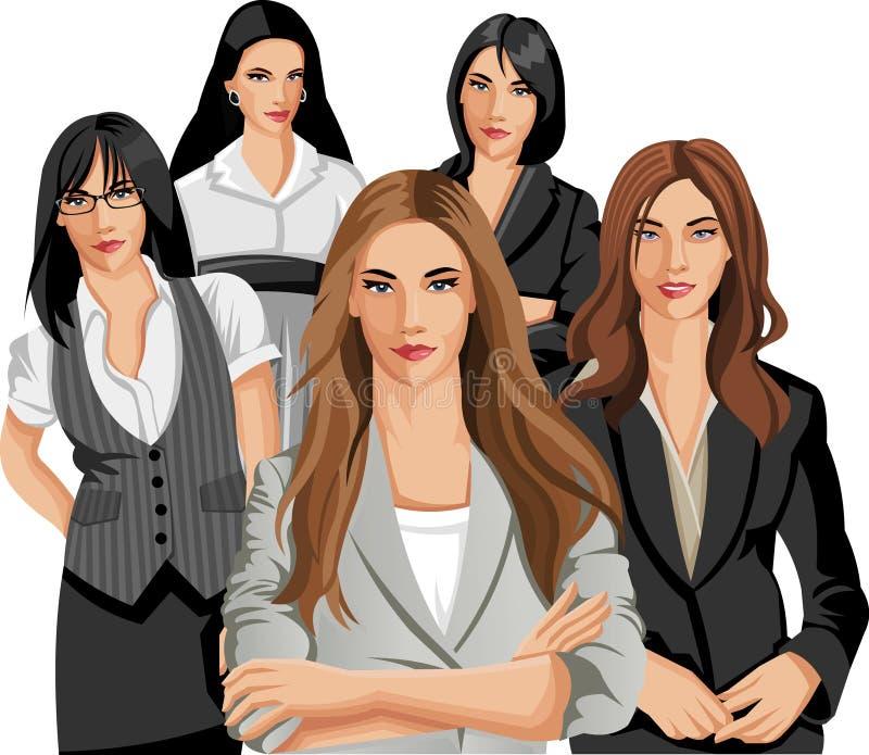 Женщины дела иллюстрация вектора