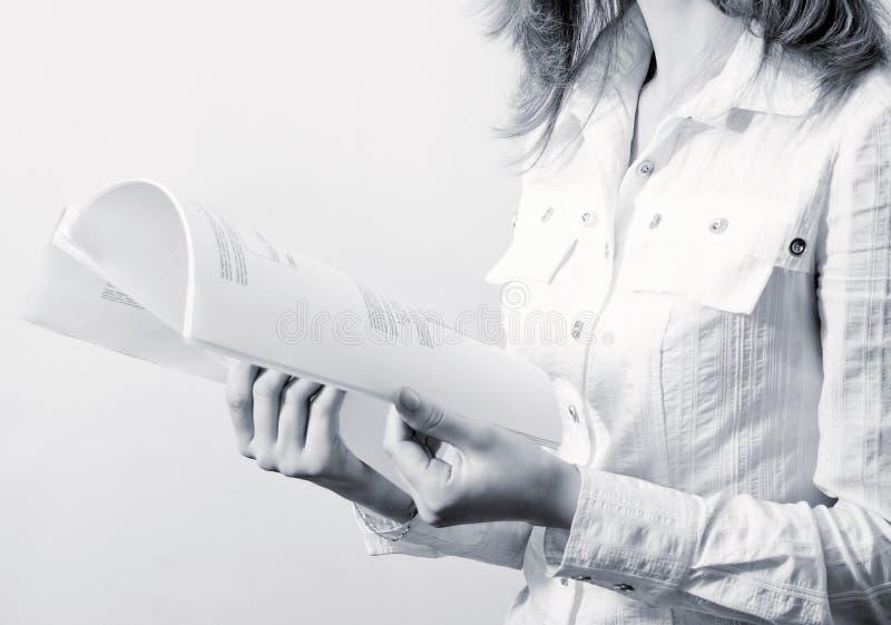 женщины документов дела стоковые фото