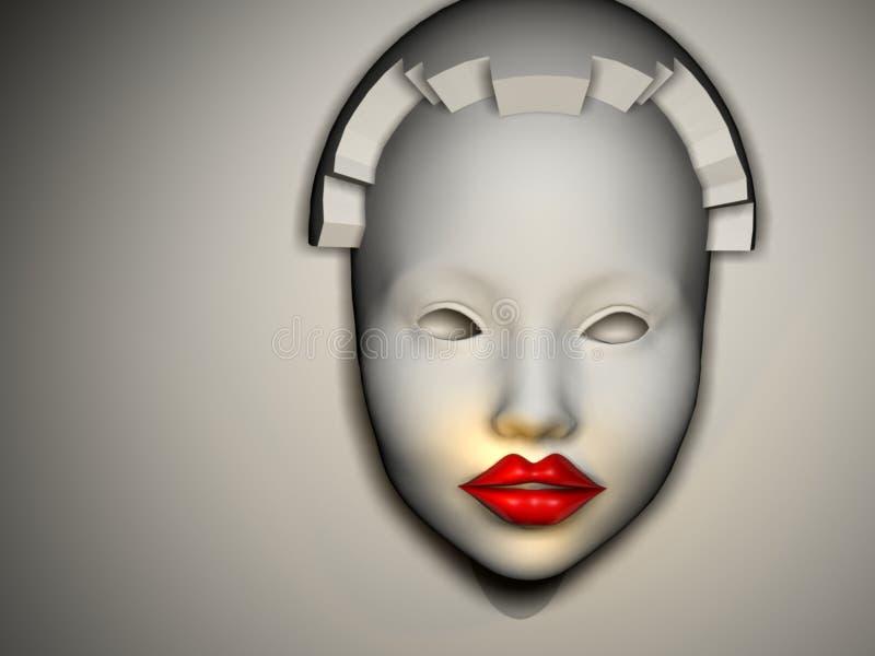 женщины маски иллюстрация штока