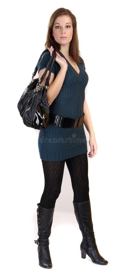 женщины мешка стоковое изображение