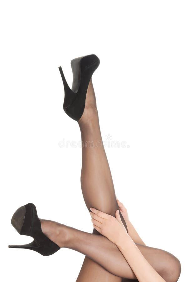 женщины ног сексуальные стоковое фото