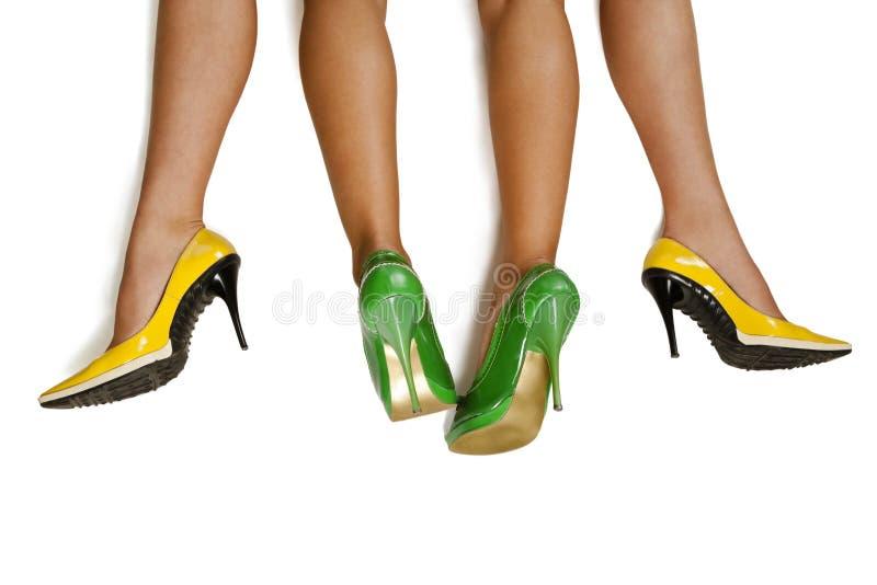 женщины ног s пар стоковое фото