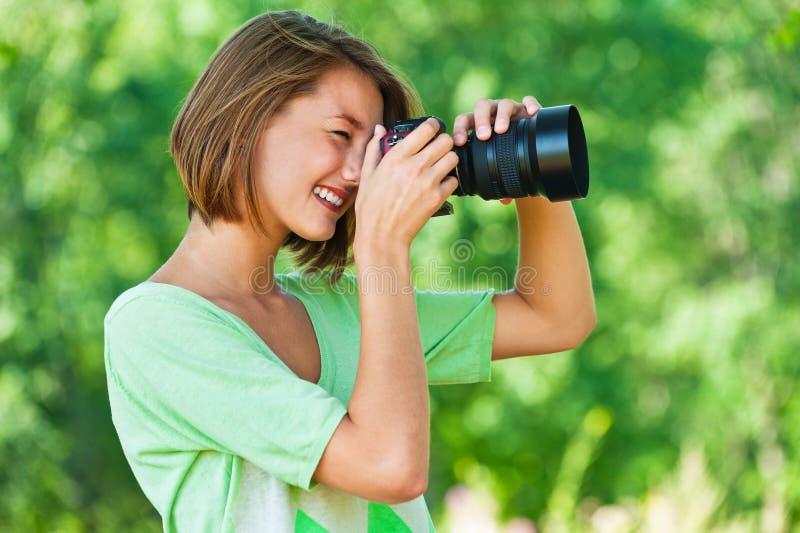 женщины профиля фотоснимок стоковые изображения rf
