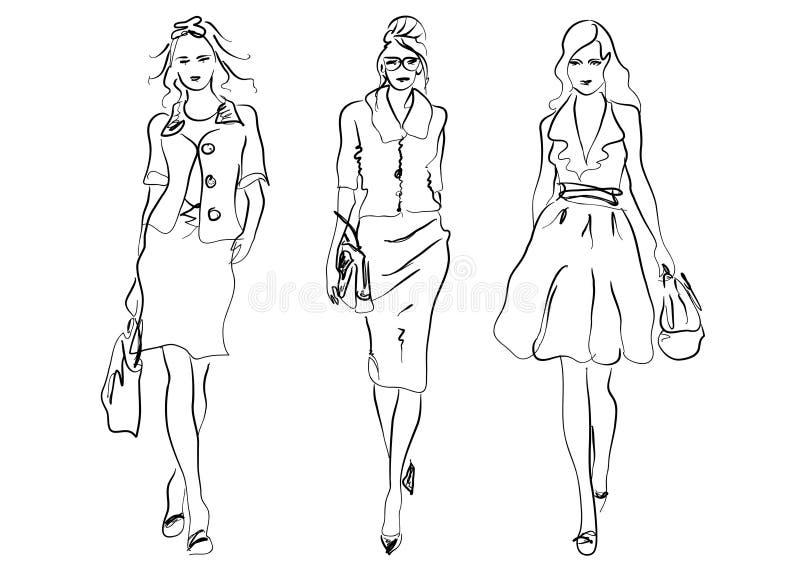 женщины способа бесплатная иллюстрация