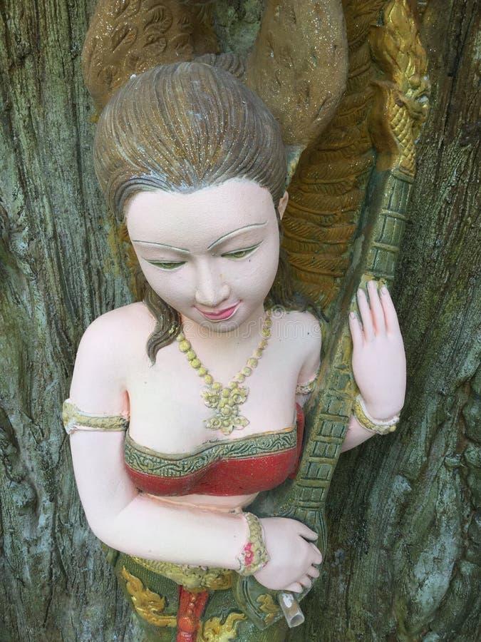 Женщины штукатурки традиционные тайские стоковое изображение rf
