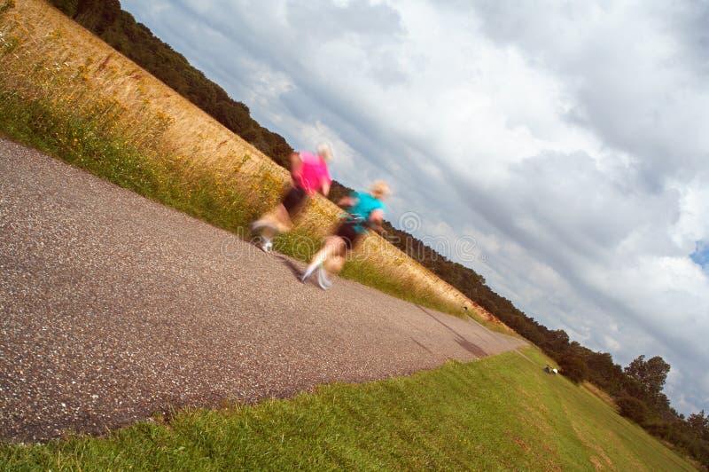 женщины jogging стоковая фотография rf