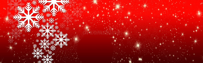 Желания рождества, смычок с звездами и снег, предпосылка