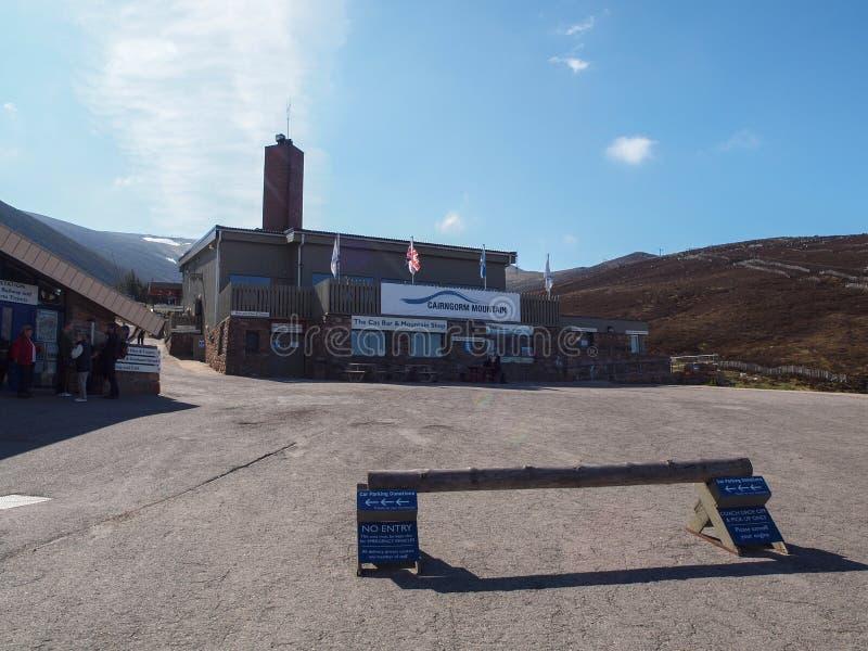 Железная дорога горы Cairngorm стоковые фото