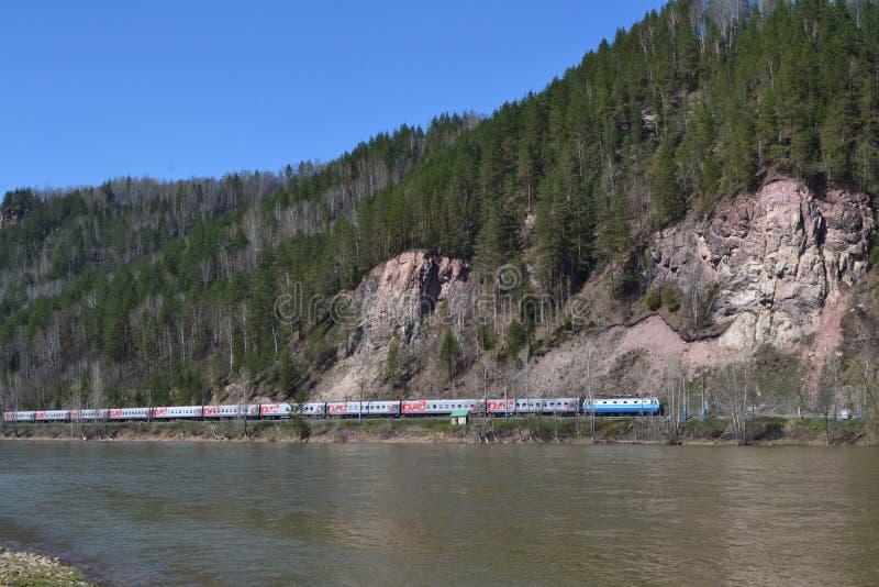 Железная дорога Inser стоковая фотография