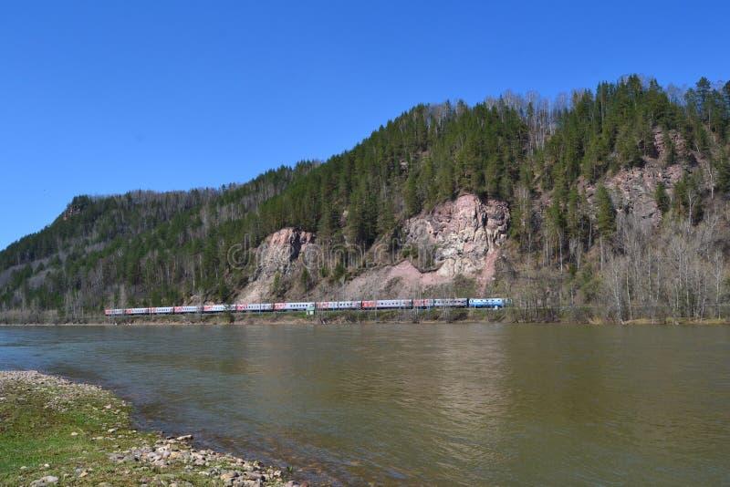 Железная дорога Inser стоковое фото