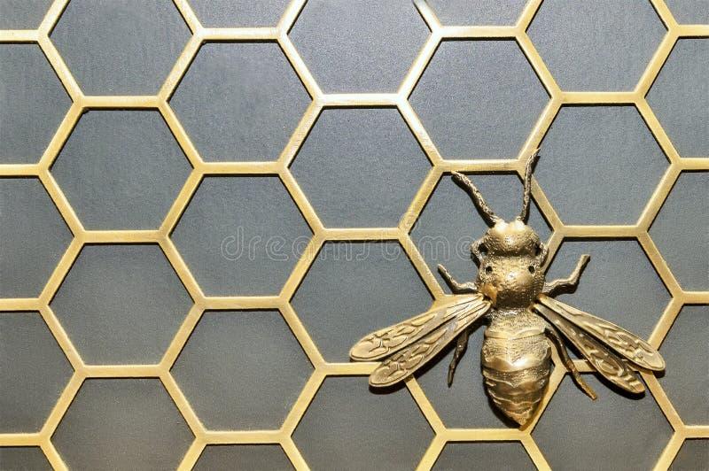 Железная пчела стоковая фотография