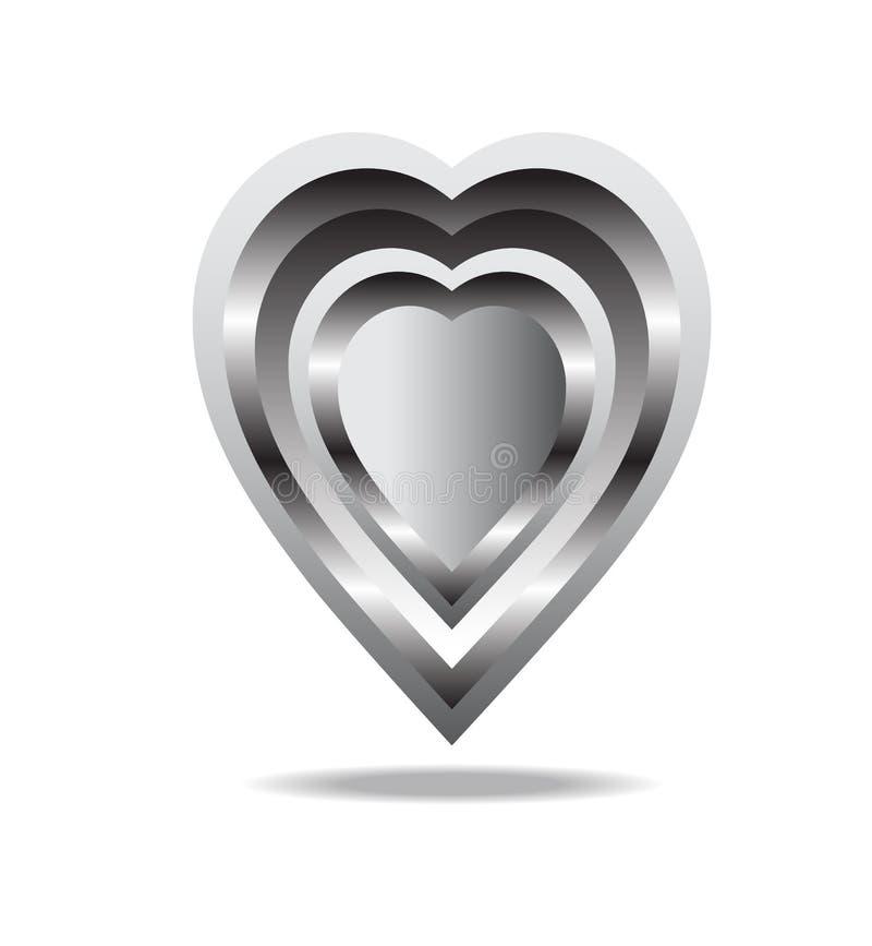 Железное сердце стоковое изображение rf