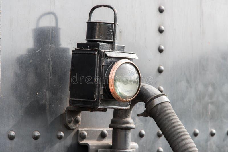 Железнодорожная лампа стоковое фото rf
