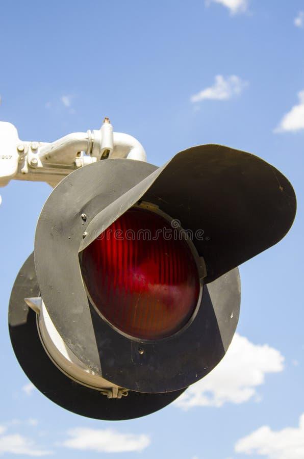 Железнодорожные света стоковая фотография