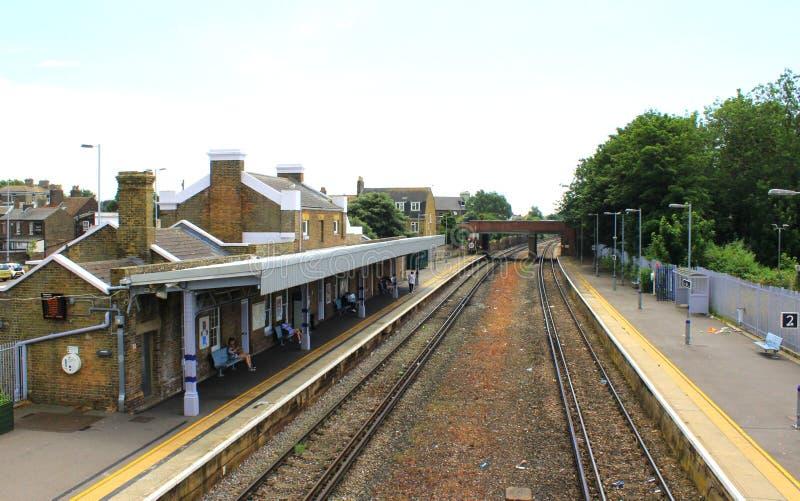 Железнодорожный вокзал Кент Англия дела стоковые фотографии rf