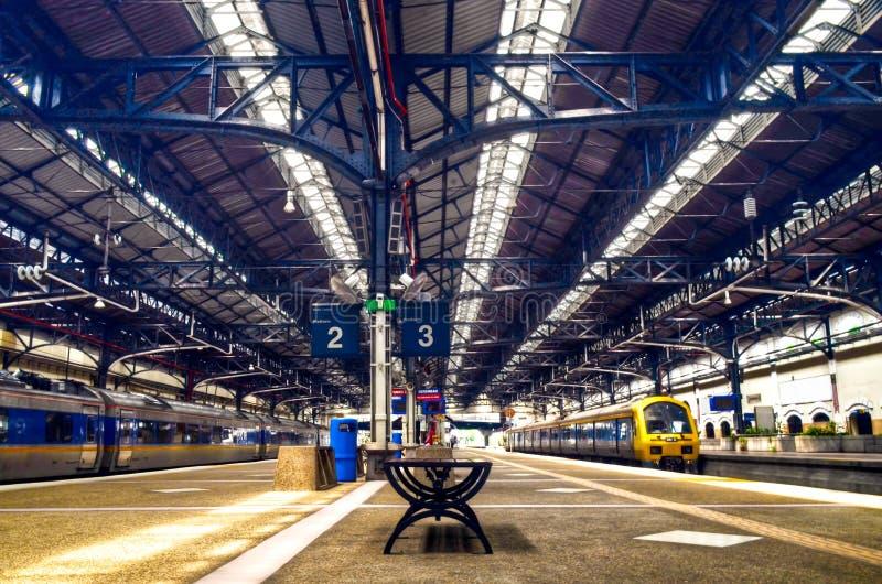 Железнодорожный вокзал Куалаа-Лумпур, Малайзия стоковое изображение rf