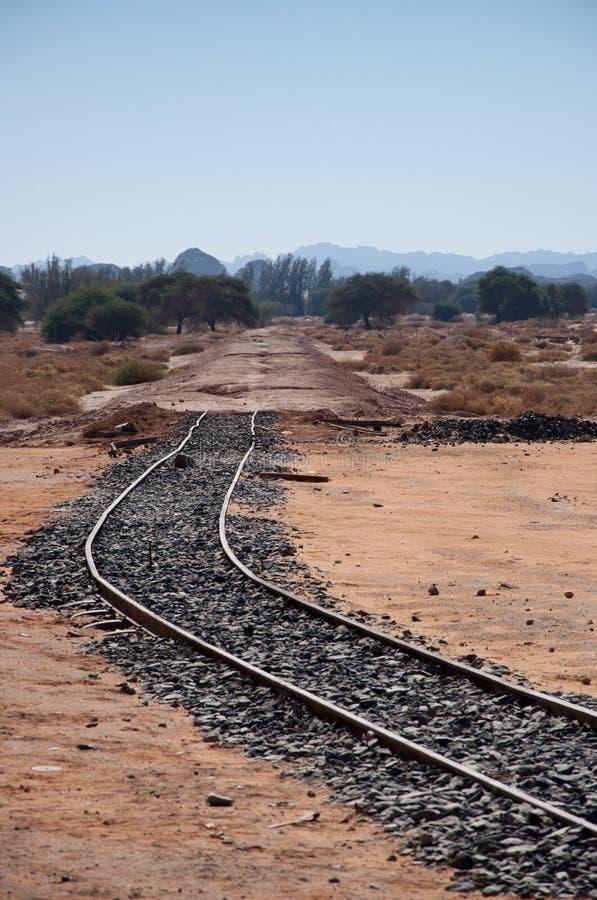 Железнодорожный вокзал Hejaz около al-Ula стоковое фото rf