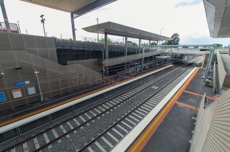 Железнодорожный вокзал Mitcham стоковое фото rf