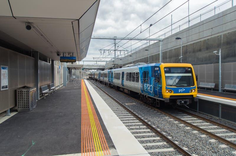 Железнодорожный вокзал Mitcham стоковые изображения rf