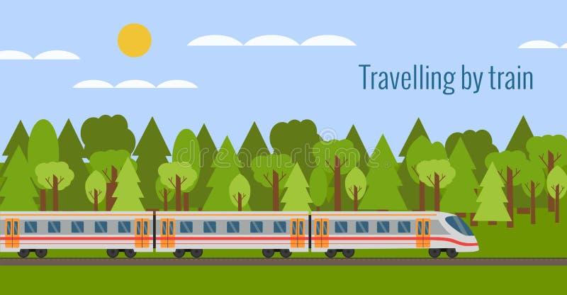 железнодорожный поезд бесплатная иллюстрация