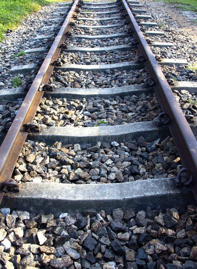 Железнодорожный путь стоковое изображение