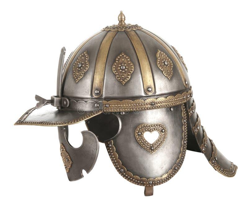 Железный шлем стоковое фото rf