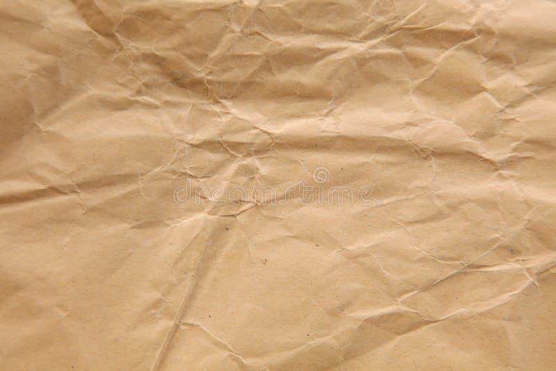 Желтая бумага губительно текстурирует стоковые фотографии rf