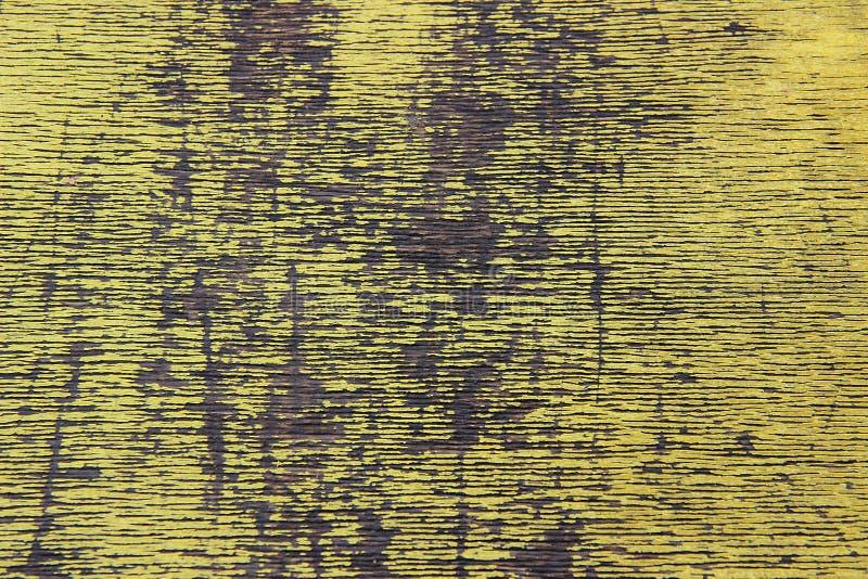 Желтая деревянная текстура стоковая фотография