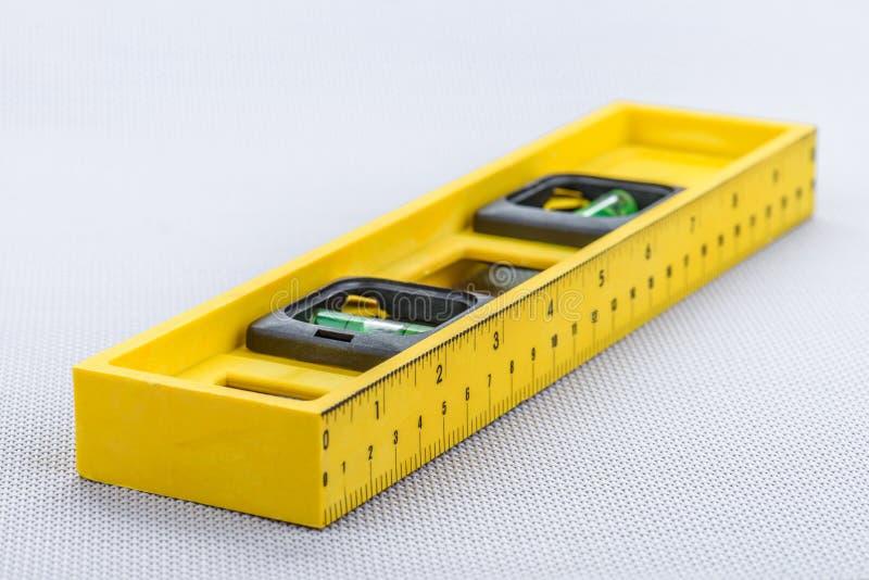 Желтая линия уровень Стоковые Изображения RF