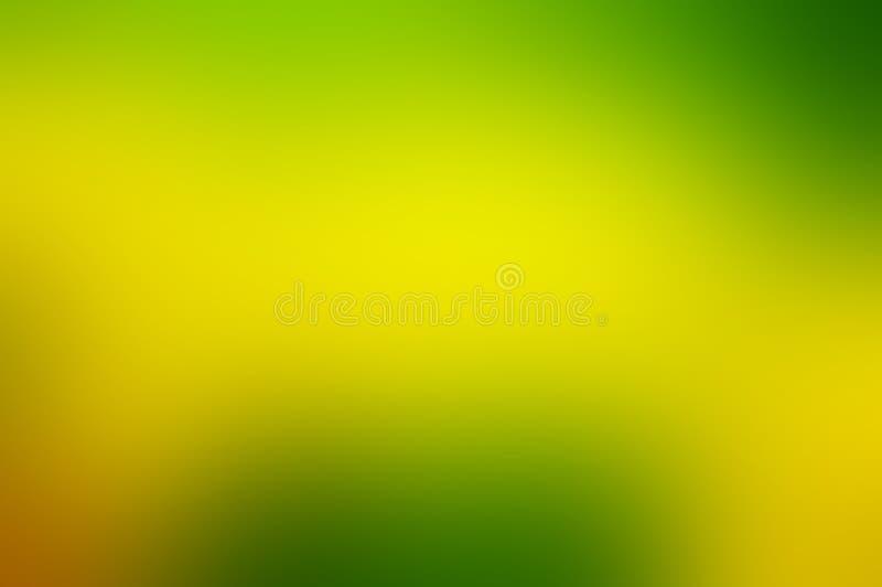 Желтая и зеленая абстрактная предпосылка бесплатная иллюстрация