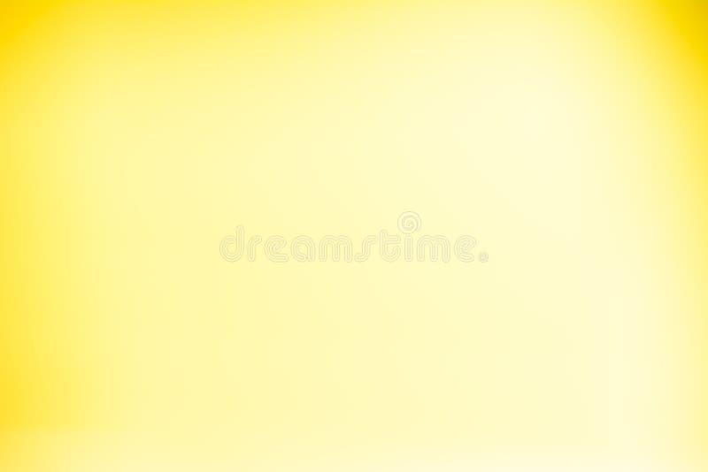 Желтая предпосылка градиента стоковые фотографии rf