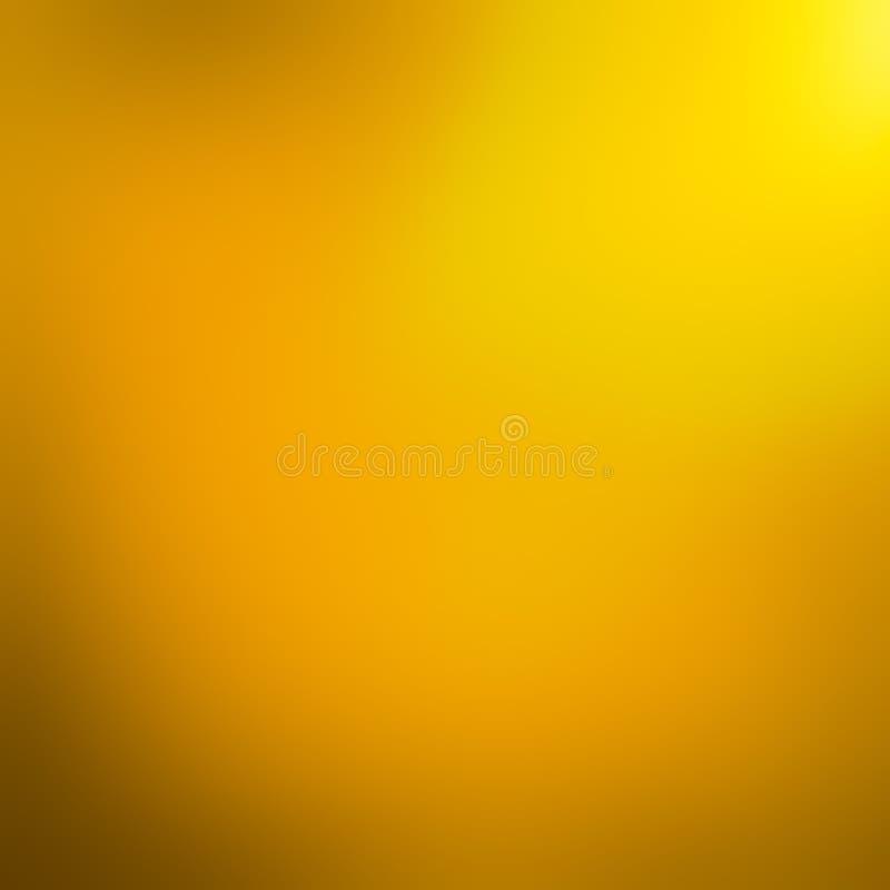 Желтая предпосылка конспекта градиента стоковая фотография rf