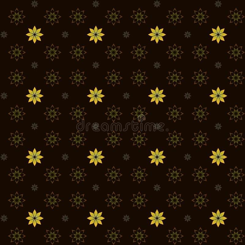 Желтые цветки иллюстрация вектора