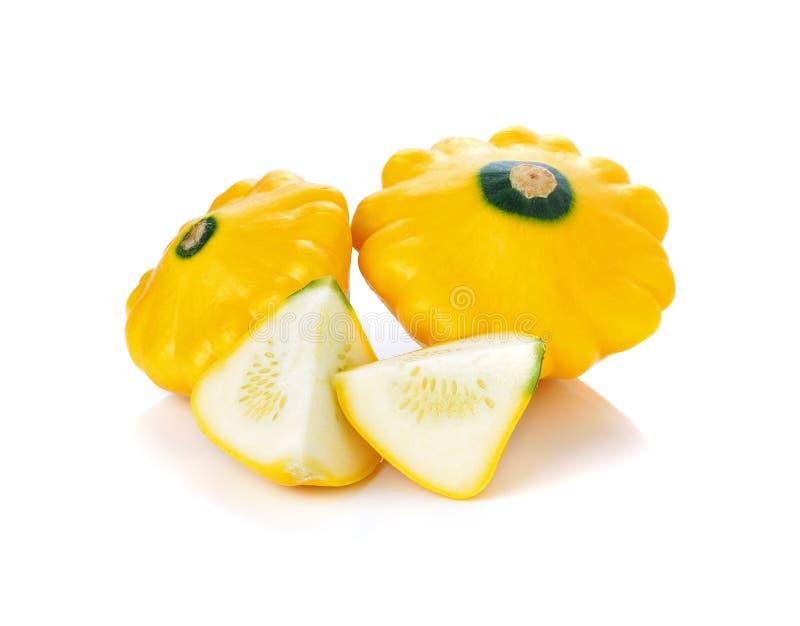 Желтые цукини или сквош sommer стоковое изображение