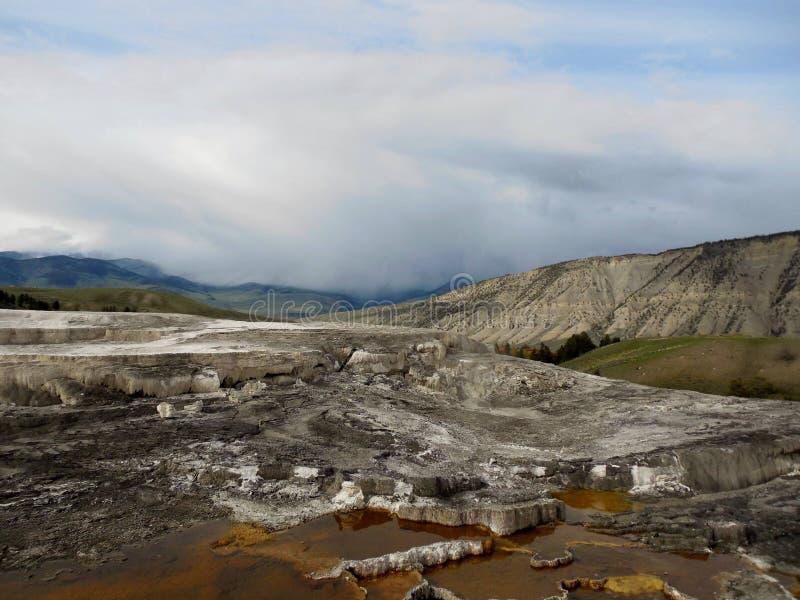 Желтый каменный национальный парк стоковые изображения rf