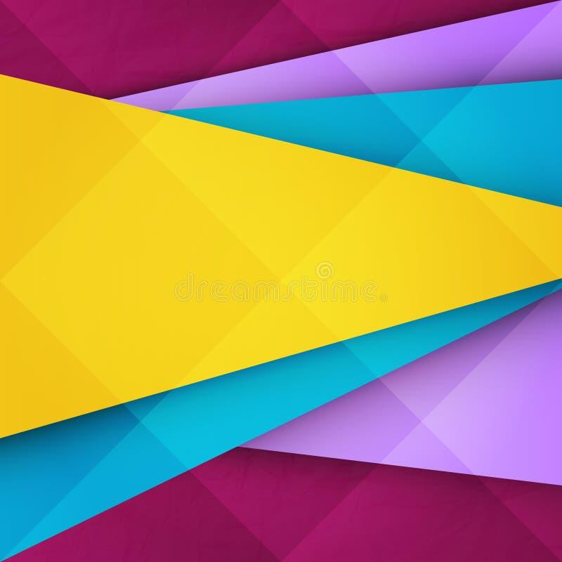 Желтый фронт иллюстрация вектора