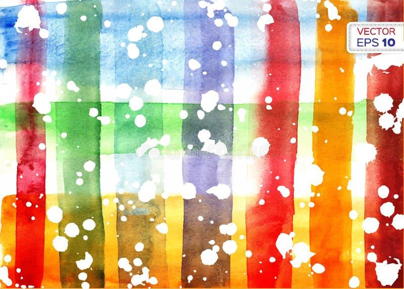 желтый цвет акварели стародедовской предпосылки темный бумажный бесплатная иллюстрация