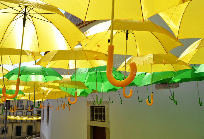 Желтый цвет и зеленый цвет стоковое изображение rf
