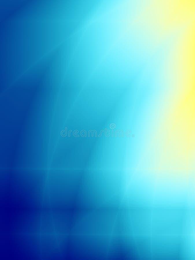 желтый цвет предпосылки голубой стоковая фотография rf