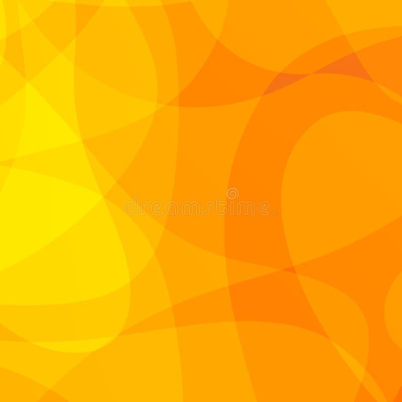 желтый цвет предпосылки просто иллюстрация вектора