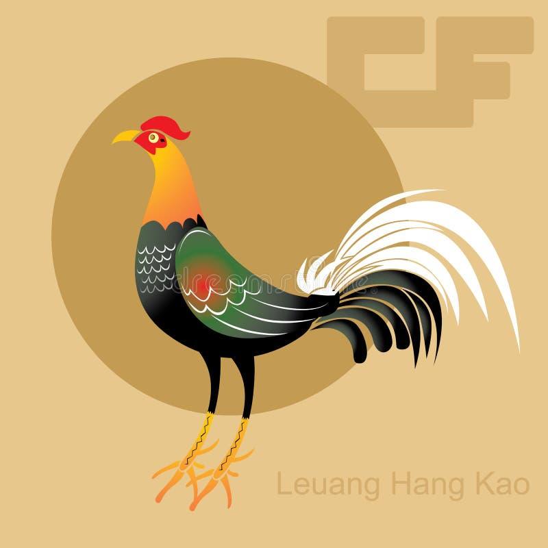 Желтый цыпленок Таиланд кабеля стоковые фото