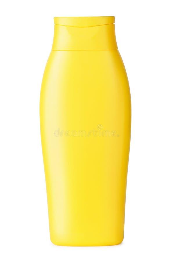 Желтый шампунь стоковые фотографии rf