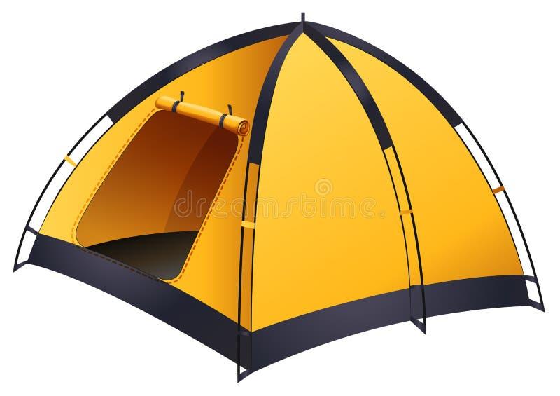 Желтый шатер бесплатная иллюстрация